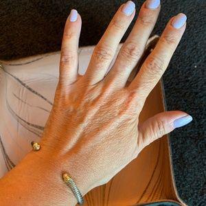 David Yurman Kids Cable Bracelet with Diamonds